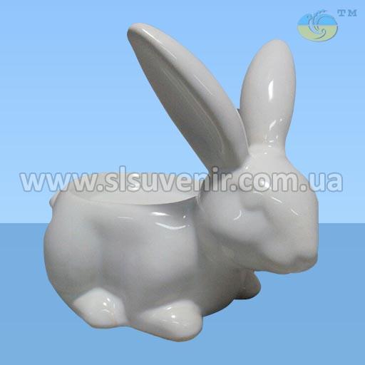 Подсвечник Заяц керамика