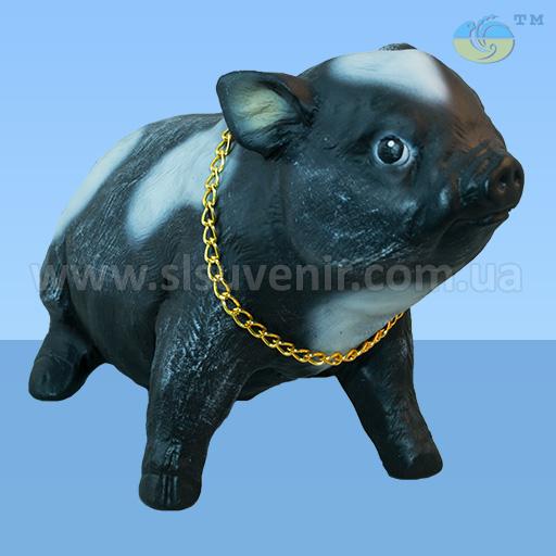 садовая фигура свинка